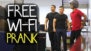 Free WiFi Prank on Students