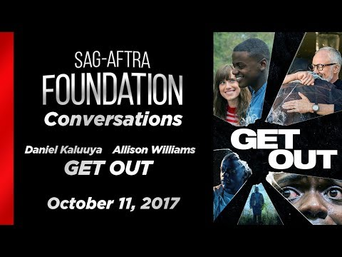 Conversations with Allison Williams and Daniel Kaluuya of GET OUT