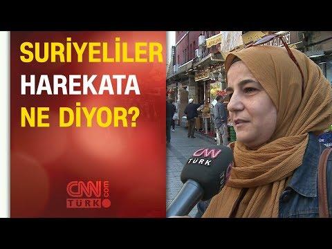 Barış Pınarı Harekatı'na Türkiye'de yaşayan Suriyeliler ne diyor?