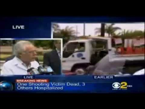 Santa Monica College News Conference Update About Shooting Victims KCBS mp4