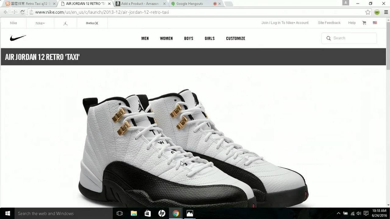 9d0db929e0f2 Real VS Fake Unauthorized Air jordan 12 Taxi Retro Quick Tips - YouTube