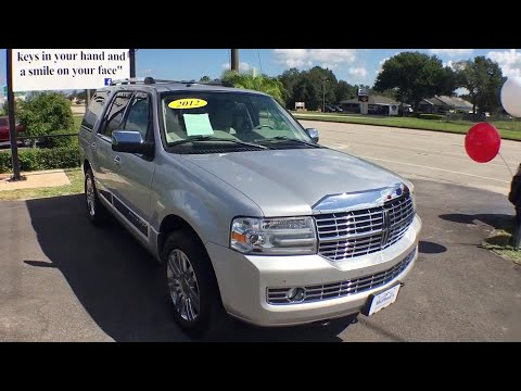 2012 Lincoln Navigator Arcadia, Winter Haven, Port Charlotte, Okeechobee, Sebring, FL D5023