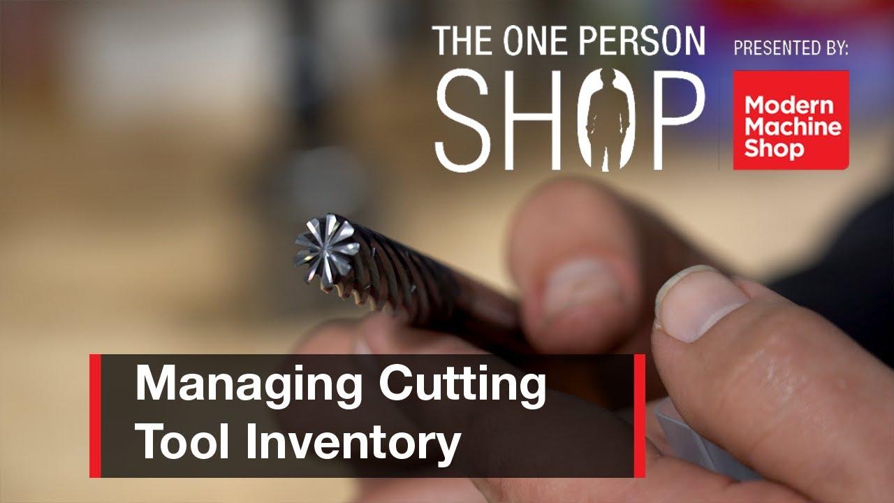 如何管理小型车间的刀具库存-单人车间#4