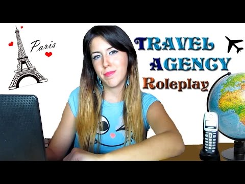 """~ ASMR TRAVEL AGENCY - [ℛℴlepℓay] - Welcome to """"Magical Travels""""   [ITA]"""