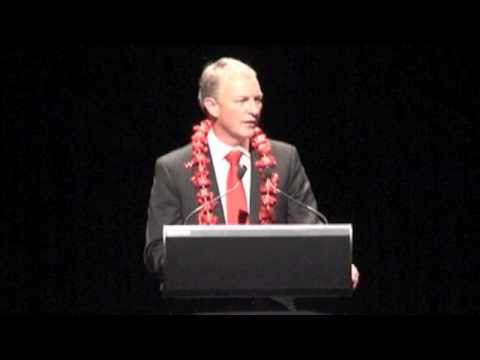 Phil Goff   2010 conference speech