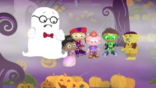 Super WHY! and The Ghost Who Was Afraid of Halloween | Super WHY! S01 E35