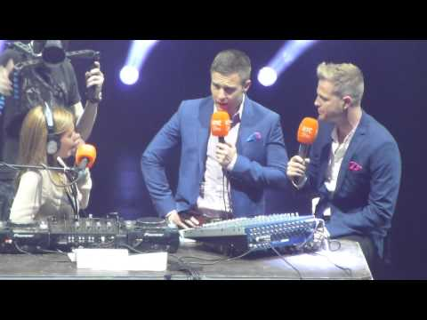 The Hit 09.08.2013 - Nicky Byrne & Aidan Power talking to 2FM