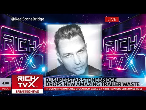 DJ Superstar StoneBridge Drops New Amazing Trailer Waste