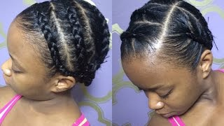 Protective Braids Under Wigs (Tutorial) Thumbnail