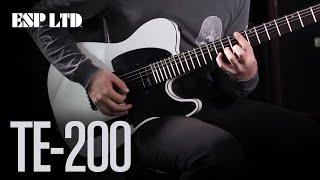 ESP LTD TE-200 - Demo
