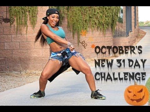 NEW OCTOBER 31 DAY FIT/DANCE CHALLENGE with Keaira LaShae