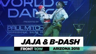 Jaja & BDash | FrontRow | World of Dance Arizona 2018 | #WODAZ18