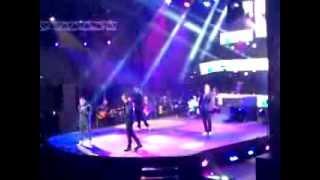 "Oscarcito y Victor Manuelle ""Oscarcito Tour 2014"" Tema:Si tu me Besas"
