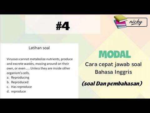 Soal 4 Cara Cepat Jawab Soal Bahasa Inggris Youtube