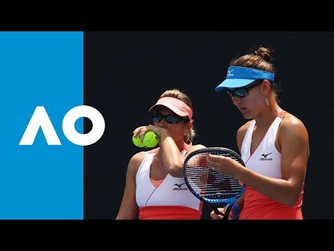 Maria/Watson v Peschke/Melichar match highlights (1R) | Australian Open 2019