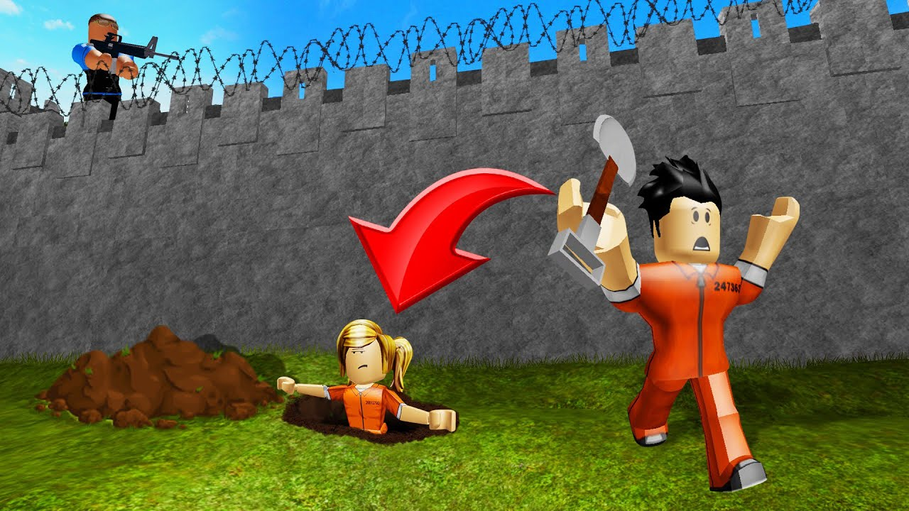 Escape Before You Get Caught Roblox Prison Break Youtube