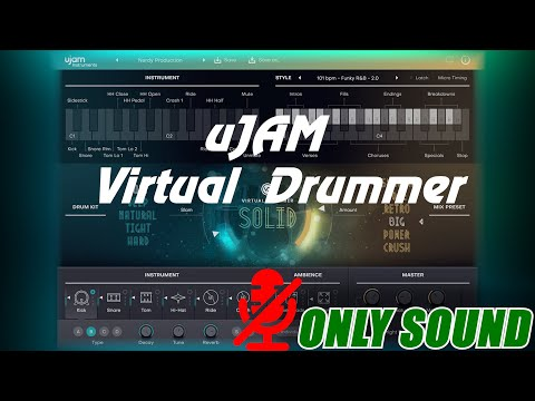 [VST] uJAM - Virtual Drummer SOLID [Demonstration]