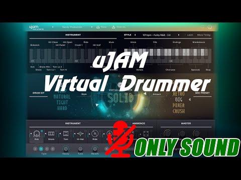 [VST] uJAM - Virtual Drummer SOLID [Demonstration]