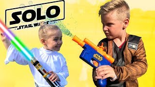 SOLO: A Star Wars Story Gear Test & Toys Review for KIDS!