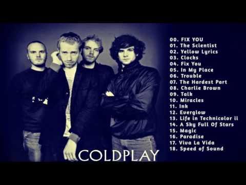 Coldplay Music songs list