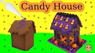 Make A Halloween Haunted Cookie House - Wilton DIY Food Craft Fun Kit Cookieswirlc Video
