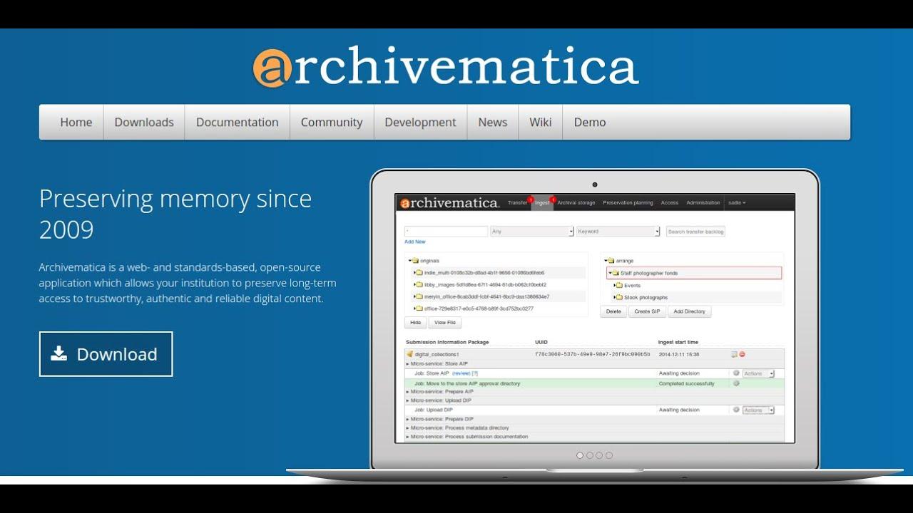 The Archivematica wiki
