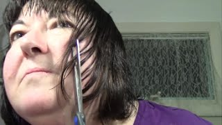 Watch Me Cut My Hair - Sort of a Fail This Time!