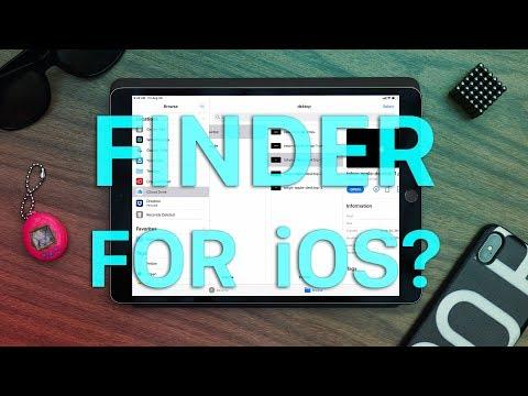 IOS 13 Files App Brings The Mac Finder To IOS