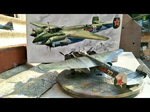 ICM 1/72 SOVIET BOMBER TU-2S