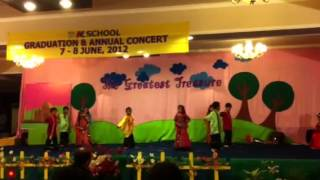 Jac school student dance india