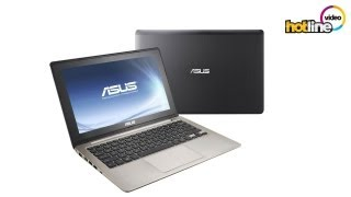 видео Ноутбук Asus VivoBook S200E (Core i3 3217U 1800 Mhz/11.6/1366x768/4096Mb/500Gb/DVD нет/Intel HD Graphics 4000/Wi-Fi/Bluetooth/Win 8 64)Silver