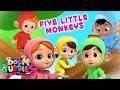 Gambar cover Five Little Monkeys jumping On The Bed Song Ands for Kids from Boom Buddies