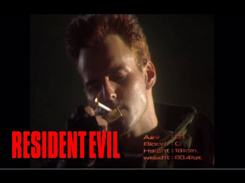 Ретроспектива Resident Evil: Resident Evil (1996, прохождение за Криса, часть 1)