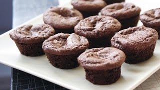 Вкусные шоколадные кексы! Очень просто и легко)