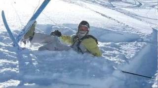 Face Plant in Gulmarg Powder Bowl. Thumbnail