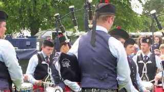 Field Marshal Montgomery Pipe Band @ Lurgan 2015 Medley