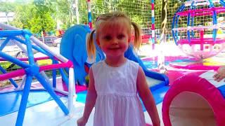 Видео для детей ЛУЧШАЯ ДЕТСКАЯ ПЛОЩАДКА Funny outdoor Playground for kids Children Amusement park