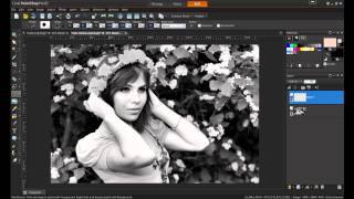Adding Color to a Black and White Photo in PaintShop Pro X5