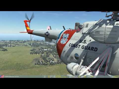 DCS WORLD MI8 civil rescue in mountain