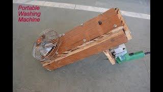 How to Make Portable Washing Machine