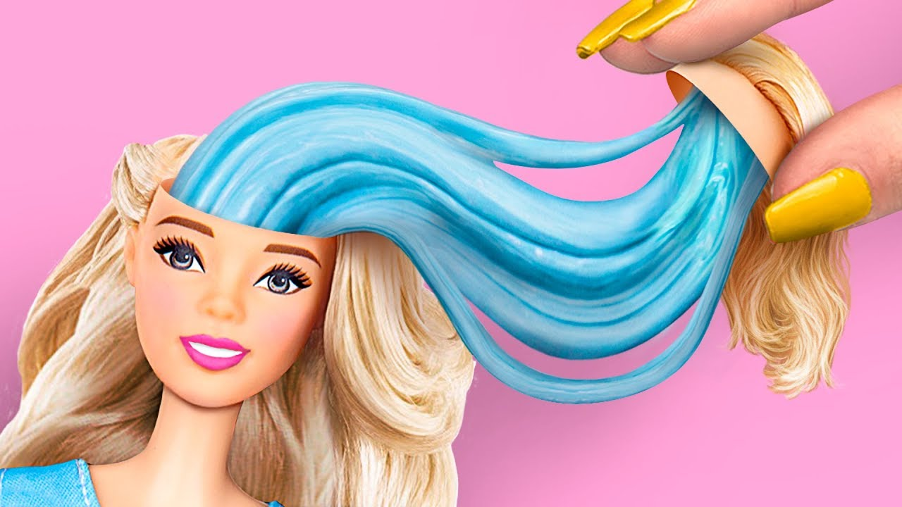8 Raros Juguetes Antiestrés Locos Trucos Para Tu Barbie Youtube