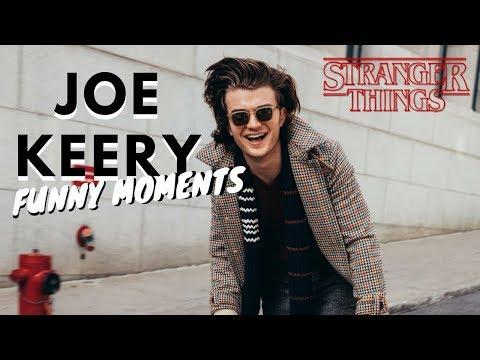 Joe Keery (Steve Harrington) Cute and Funny Moments