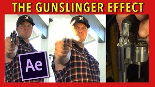 Learn how to create an Epic Gunslinger Tutorial | After Effects CC 2017