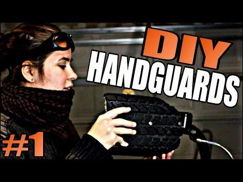 DIY Motorcycle Handguards #1 - Wasteland Wednesday