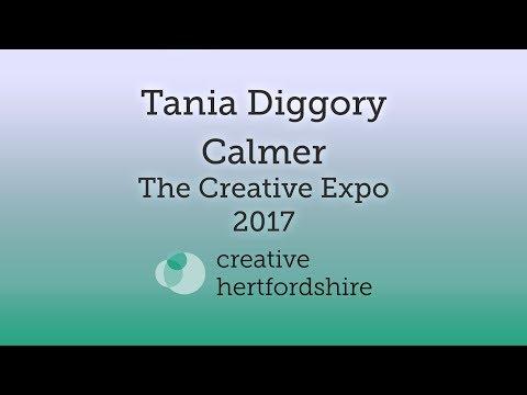 Tania Diggory & Calmer - Bold Moves - The Creative Expo 2017