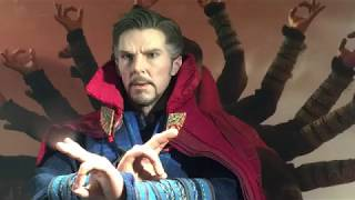 Avengers Infinity War Doctor Strange   Hot Toys Collectible Figure