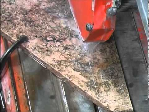 How to Cut Slab Granite for Kitchen Countertops