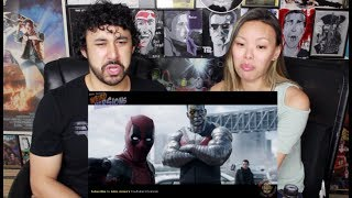 DEADPOOL Weird Version by Aldo Jones - TRY NOT TO LAUGH OR GRIN CHALLENGE - REACTION!!!