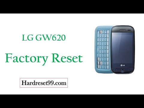 How To Factory Reset LG GW620
