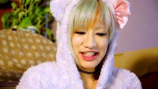 パジャマでお喋り編のつづき♡ 藤田恵名ちゃんと雨凛、共通点を探ってい...